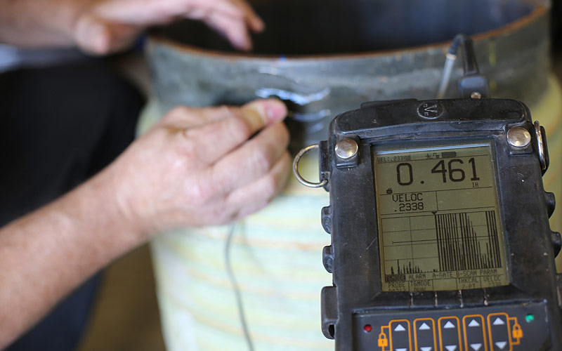 ​2. Ultrasonic Testing Wall Thickness Measurements